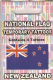 New Zealand Country Flag Tattoos.